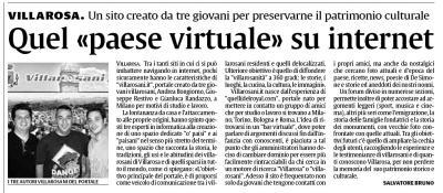 Articolo pubblicato sul quotidiano LA SICILIA del 22 giugno 2006