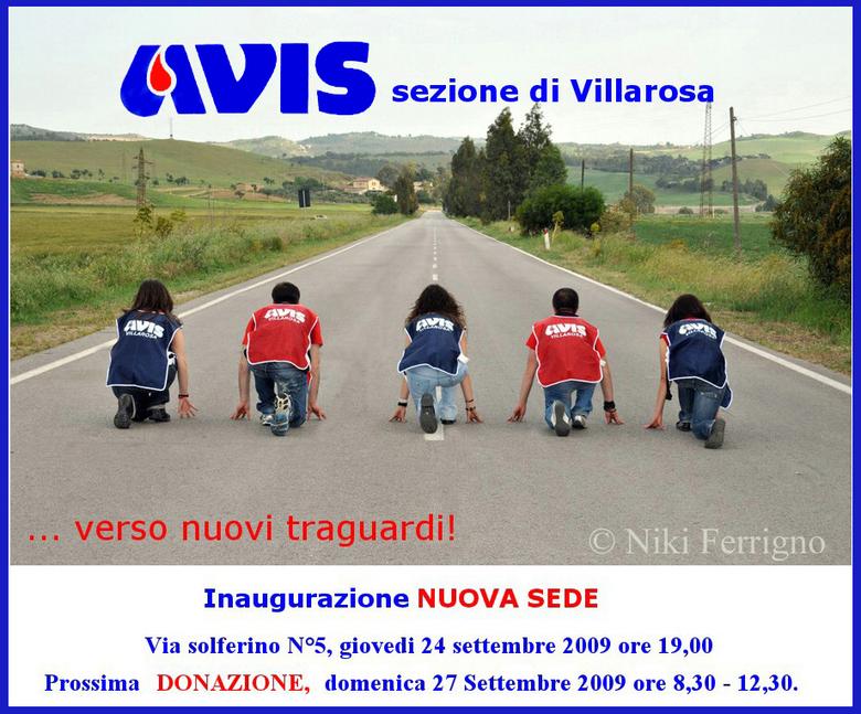 Nuova sede Avis Villarosa