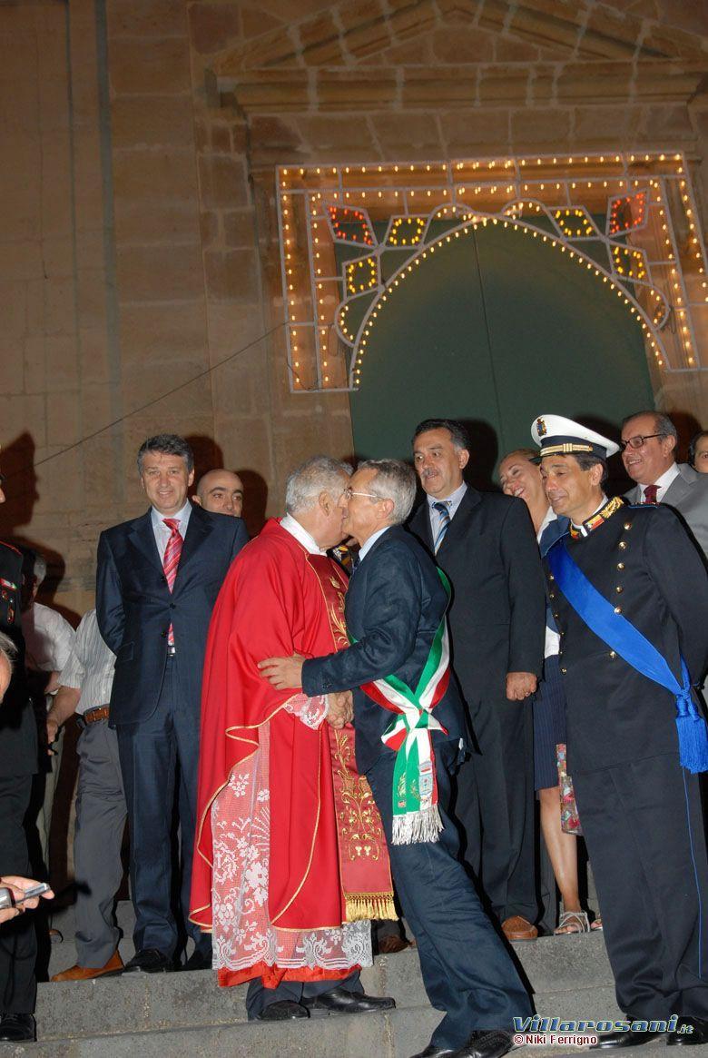Fiera 2007 - Padre Stagno e Sindaco